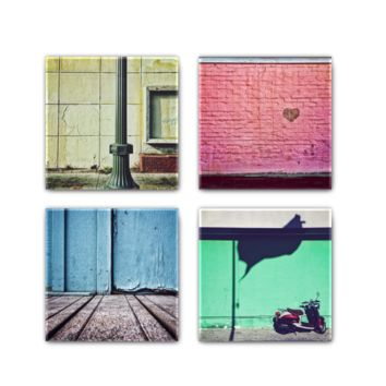 Color Walls 4pack Metal Magnets