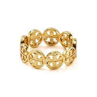 Tory Burch Frozen Logo Ring | Bloomingdales's