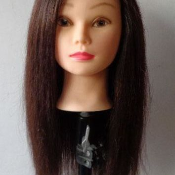 85% natural hair Practice Mannequin head touch dummy head female mannequin head with hair head