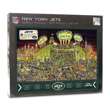 New York Jets Find Joe Journeyman 500-piece Puzzle