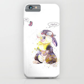 Hi - Hallo iPhone & iPod Case by MIKART