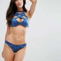 ASOS FULLER BUST Exclusive Caged Bikini DD-G at asos.com