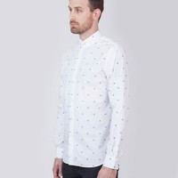 Damien Shirt White