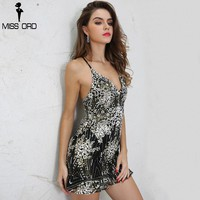 Sexy V front Neck sleeveless Geometric Graphic Glitter Colorful Elegant Dress party dress