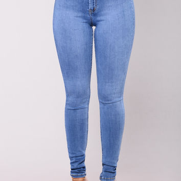 Precious Fit High Waisted Jean - Medium