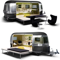 Mini Cooper S Clubman Airstream Trailer