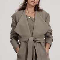 FINDERS KEEPERS PYRAMIDS COAT khaki
