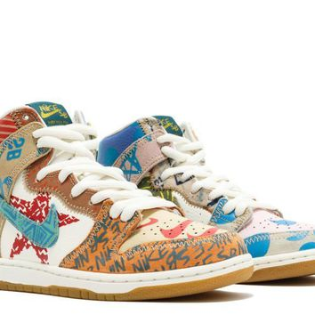 qiyif Nike SB What The Dunk Tom Campbell