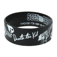 Soul Eater Death The Kid Rubber Bracelet