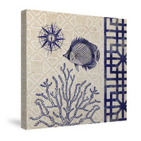 Sea Shore II Canvas Wall Art