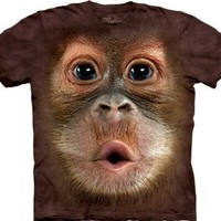 The Mountain - Youth Big Face Baby Orangutan T-Shirt