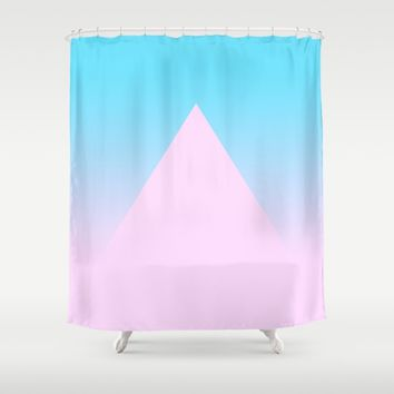 Mirage Shower Curtain by Trevor May