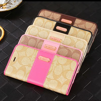 Luxury Fashion Leather Wallet Case for iPhone 7 7 Plus iPhone 6 6S Plus 5 5S SE Magnetic Flip Cover Phone Bag with Card Holder