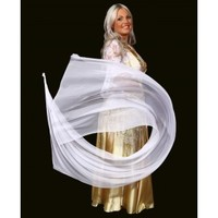 Belly dance Veil Poi  - BellydanceDiscount.com