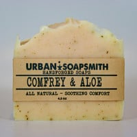 Comfrey & Aloe Soap - Handmade soap, Cold Process Soap, Comfrey Soap,  Aloe Soap