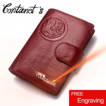 Genuine Leather Passport Wallet Driver's License Cover Document Holder Women Travel Wallet Business Card Case Passport Organizer