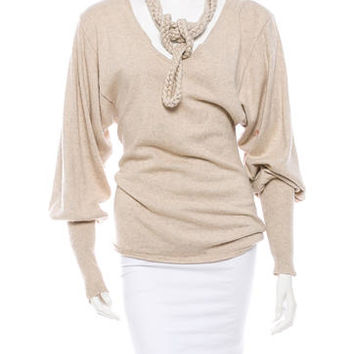 Mara Hoffman Silk Sweater