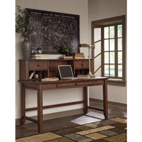 H478-48 Woodboro Home Office Desk Hutch - Brown - Free Shipping!