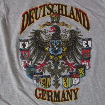 14-1118 Vintage Deutschland T Shirt / Germany T Shirt / German T Shirt / Souvenir T Shirt / Germany Souvenir Screen Stars T Shirt