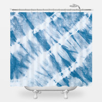 Calypso's Wave Shower Curtain
