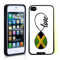 SudysAccessories Jamaican Love Jamaica Flag Infinity Love ThinShell Case Protective iPhone 5 Case iPhone 5S Case