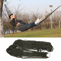 1pcs New Arrival Garden Outdoor Hammock Sleeping Bed Portable Travel Camping Nylon Hang Mesh Net Worldwide