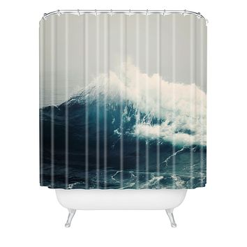 Bree Madden Sea Wave Shower Curtain