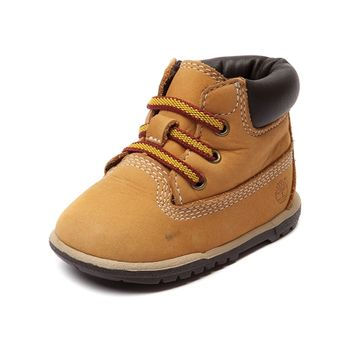 "Crib Timberland 6"" Hard Sole Bootie"