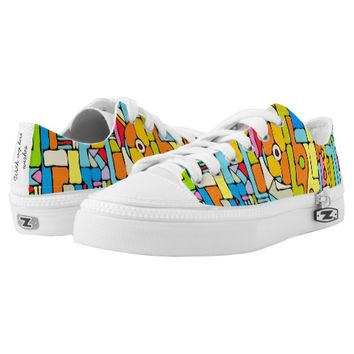 Color puzzle Low-Top sneakers
