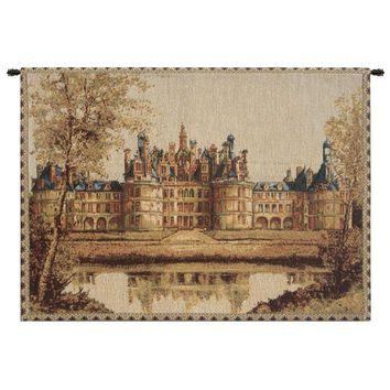 Chambord Castle Small European Tapestry