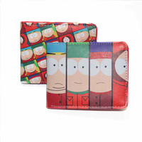 *Zipper pouchFree* Cartoon wallet South Park VoltronKing Harry Potter glory undertale multi-style short wallet men and women