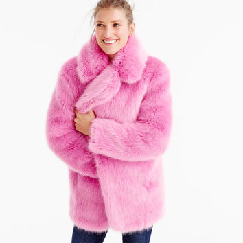 Collection faux-fur jacket