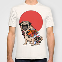 Yakuza Pug T-shirt by Huebucket