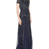 Adrianna Papell Long Formal Dress Evening Gown