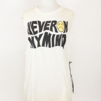 Never on my mind Sleeveless Shirt