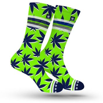 SEATTLE MARIJUANA SOCKS