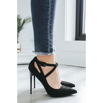 Sultry Suede Heels
