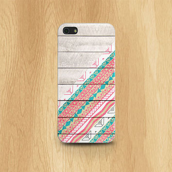 AZTEC iPhone 5 Case, iPhone Case Wood Print TRIBAL iPhone 5s Case Tribal iPhone 5S Case AZTEC iPhone 5 Case Wood Print Boho iPhone Case