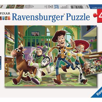 Disney Pixar Toy Story - The Toys at Day Care - (2 x 24) Piece Jigsaw Puzzles