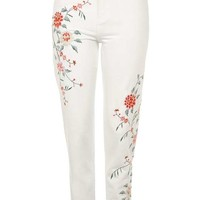 MOTO Floral Embroidered Mom - New In This Week - New In