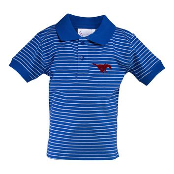 Southern Methodist Jersey Golf Shirt