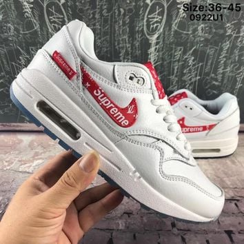 Best Online Sale Supreme x Louis Vuitton x Nike Air Max 1 Custom ef6314b9b