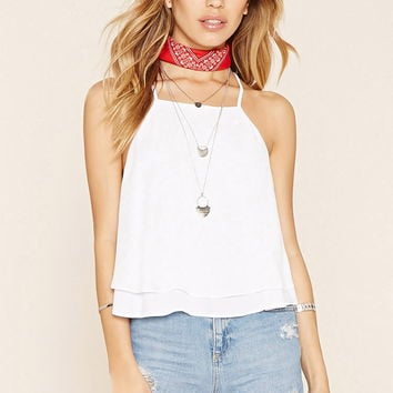 Strappy Y-Back Layered Cami