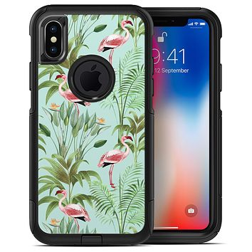 The Tropical Flamingo Scene  4 - iPhone X OtterBox Case & Skin Kits