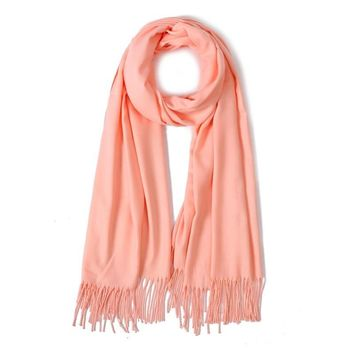 New 2018 brand solid winter scarf cashmere scarves soft women shawls and wrap warm pashmina bandana tassels female foulard 260g