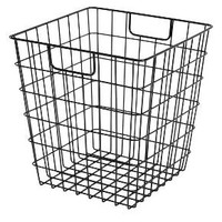 Room Essentials™ Decorative Wire Basket - Black : Target