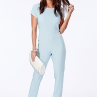 Missguided - Rutendo Jumpsuit With Lace Detail
