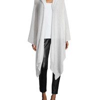 Fisher Project Airy Washed Cardigan Wrap, Size: