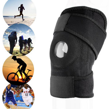 Professional Sports Leg Knee Support Brace Wrap Knee Protector Pads Sleeve Cap Safety Knee Brace DURABLE FREE SHIPPING!