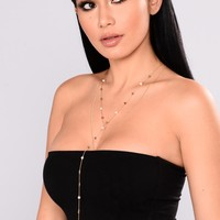 Jina Layered Necklace - Gold